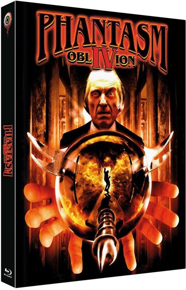 Phantasm 4 - Oblivion (1998) (Cover B, Limited Edition, Mediabook, Uncut, Blu-ray + DVD)