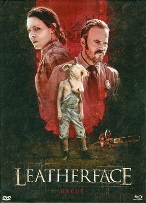 Leatherface (2017) (Cover A, Unzensiert, Limited Edition, Mediabook, Uncut, Blu-ray + DVD)