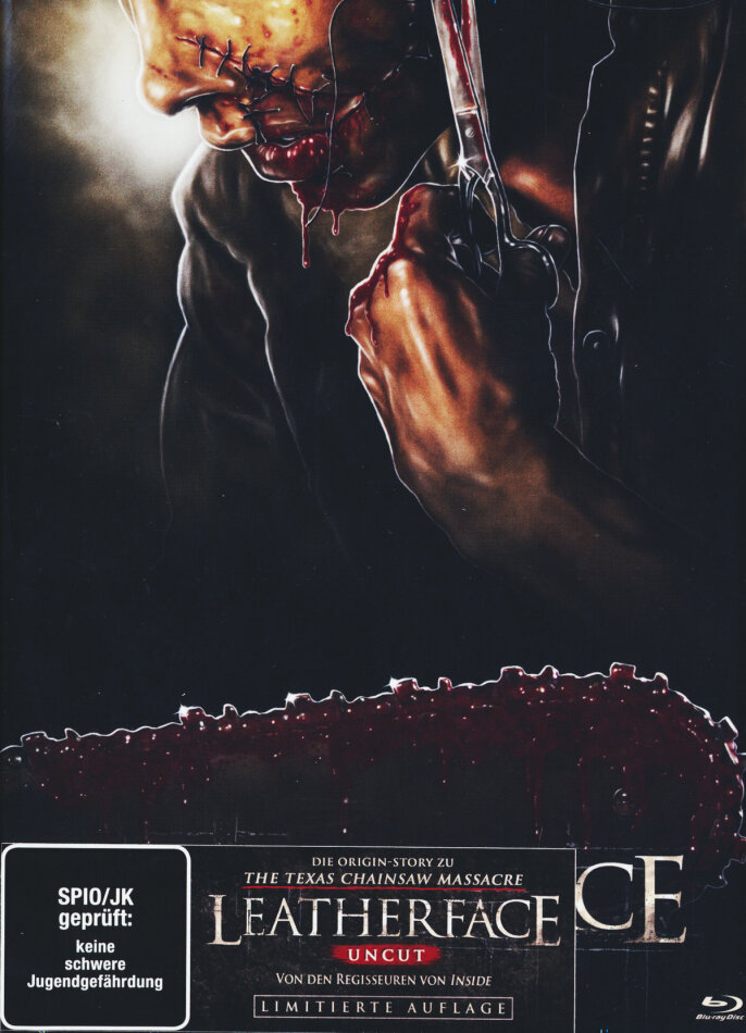 Leatherface (2017) (Cover C, Limited Edition, Mediabook, Uncut, Blu-ray + DVD)