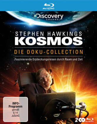 Stephen Hawkings Kosmos - Die Doku-Collection (Discovery Channel, Riedizione, 2 Blu-ray)