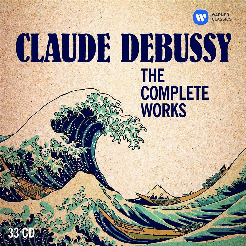 Claude Debussy (1862-1918) - The Complete Works / Sämtliche Werke (33 CDs)