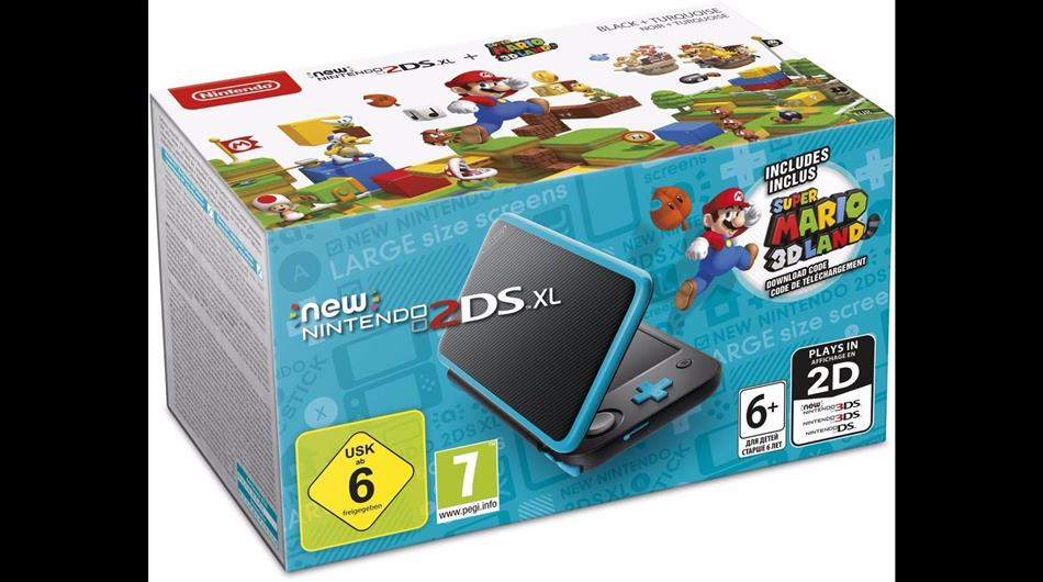 2DS Konsole NEW XL + Super Mario 3D Land