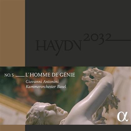 Joseph Haydn (1732-1809), Giovanni Antonini & Kammerorchester Basel - Haydn 2032 Vol.5 (2 LPs)