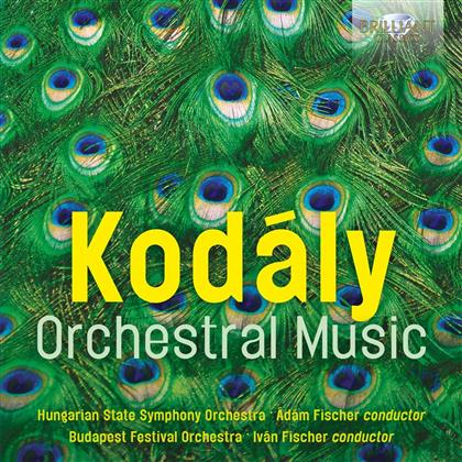 Zoltán Kodály (1882-1967), Adam Fischer, Ivan Fischer, Hungarian State Symphony Orchestra & Budapest Festival Orchestra - Orchestral Music (2 CDs)