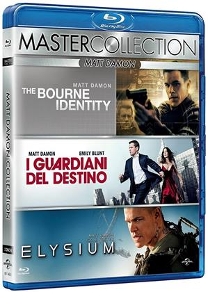 Matt Damon Collection (Master Collection, 3 Blu-ray)