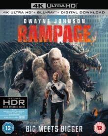 Rampage (2018) (4K Ultra HD + Blu-ray)