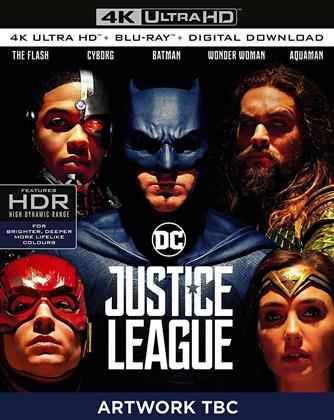 Justice League (2017) (4K Ultra HD + Blu-ray)