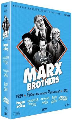Marx Brothers - 5 films des années Paramount (Coffret Collector , s/w, 5 DVDs)