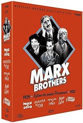 Marx Brothers - 5 films des années Paramount (Coffret Collector , s/w, 5 Blu-rays)