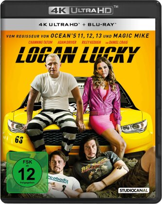 Logan Lucky (2017) (4K Ultra HD + Blu-ray)