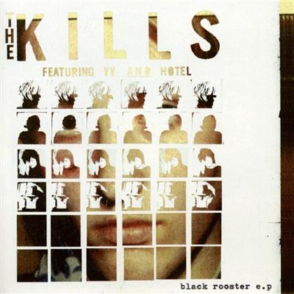 """The Kills - Black Rooster Ep (Red Vinyl, 10"""" Maxi)"""