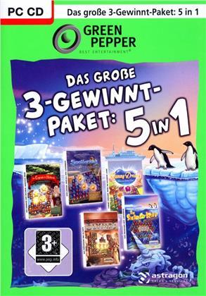 Green Pepper - Das grosse 3-Gewinn-Paket 5in1