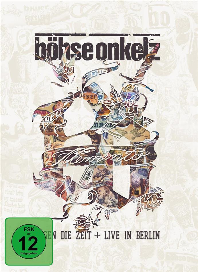 Böhse Onkelz - Memento - Gegen Die Zeit + Live in Berlin (Mediabook, 3 DVDs)