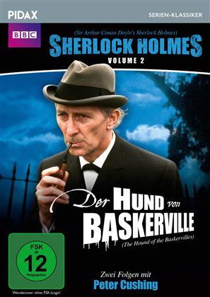 Sherlock Holmes - Vol. 2 - Der Hund von Baskerville (Pidax Serien-Klassiker, BBC)