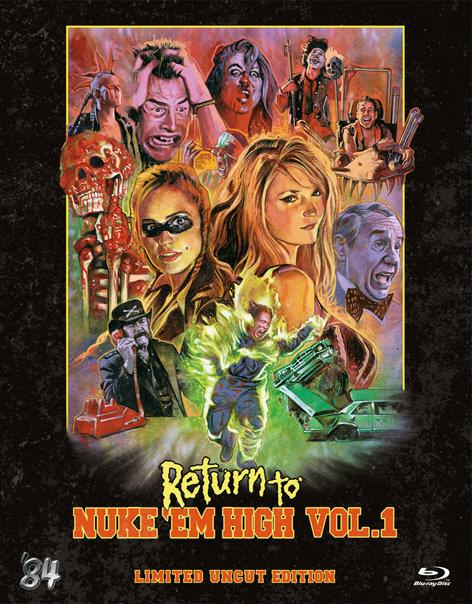 Return to Nuke 'Em High - Vol. 1 (2013) (Kleine Hartbox, Collector's Edition, Limited Edition, Uncut)