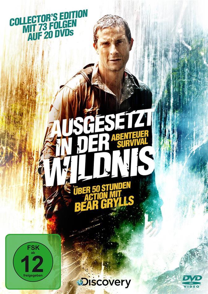 Ausgesetzt in der Wildnis - Abenteuer Survival (Collector's Edition, 20 DVDs)