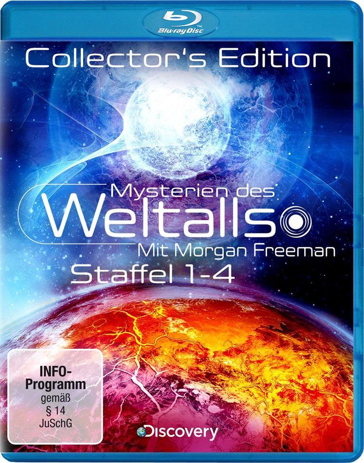 Mysterien des Weltalls - Staffel 1-4 (Collector's Edition, 4 Blu-rays)