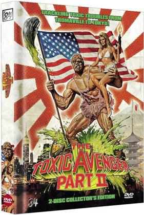 The Toxic Avenger - Part 2 (1989) (Collector's Edition, Limited Edition, Mediabook, Uncut, 2 DVDs)