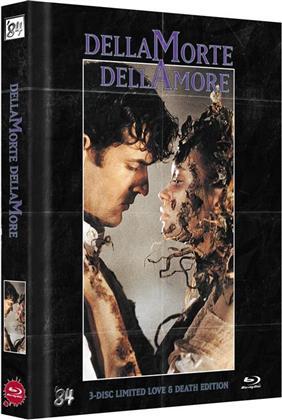 Dellamorte Dellamore (1994) (Cover C, Love & Death Edition, Edizione Limitata, Mediabook, Uncut, Blu-ray 3D + Blu-ray + DVD)