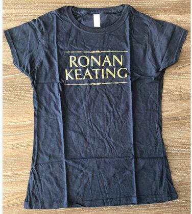 Ronan Keating Ladies T-Shirt - Logo (Ex Tour)
