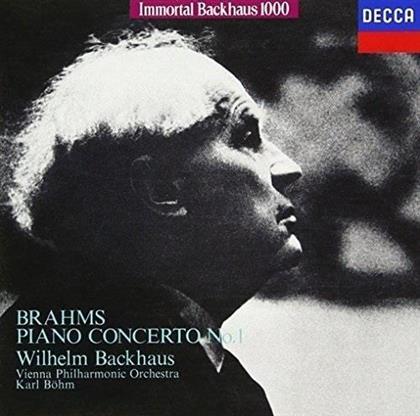 Wilhelm Backhaus, Johannes Brahms (1833-1897), Karl Böhm & Wiener Philharmoniker - Klavierkonzert Nr. 1 (Limited Edition)