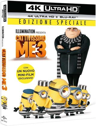 Cattivissimo Me 3 (2017) (Special Edition, 4K Ultra HD + Blu-ray)