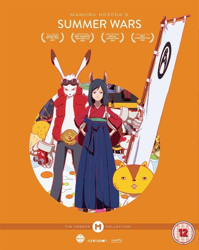 Summer Wars (2009) (The Hosoda Collection, 2 Blu-rays)