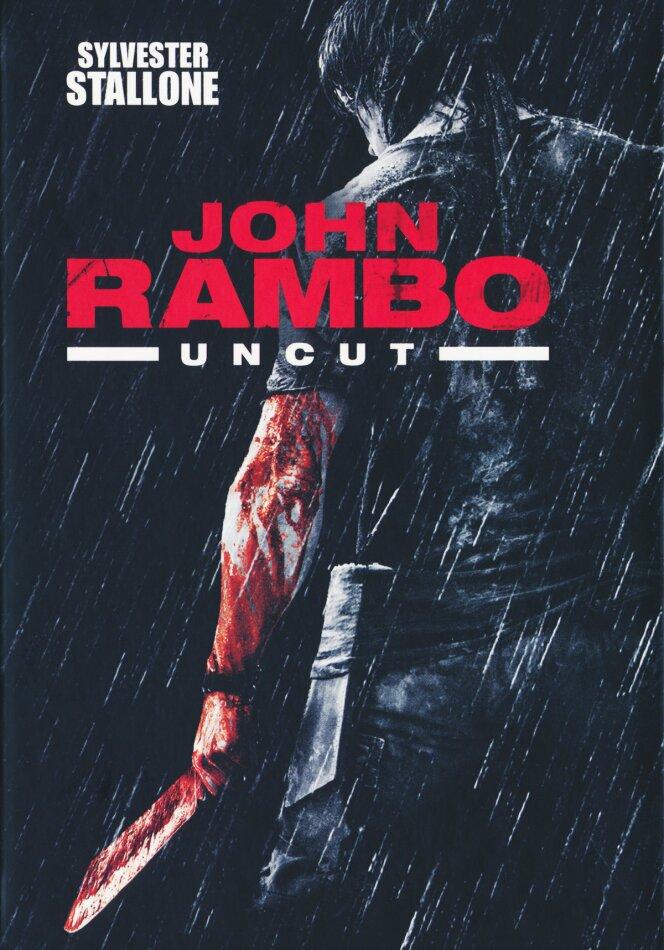 John Rambo (2008) (Limited Edition, Mediabook, Uncut, Blu-ray + DVD)