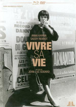 Vivre sa vie (1962) (Remastered in 4K, s/w, Mediabook, Blu-ray + DVD)