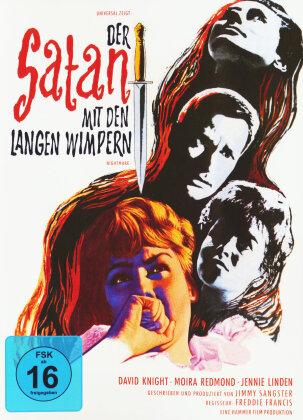 Der Satan mit den langen Wimpern (1964) (Cover B, s/w, Limited Edition, Mediabook, Uncut)