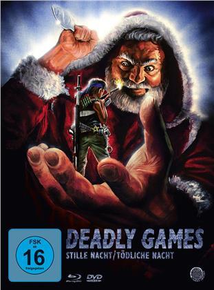 Deadly Games - Stille Nacht / Tödliche Nacht (1989) (Digipack, Schuber, Limited Edition, Special Edition, Uncut, Blu-ray + 2 DVDs)
