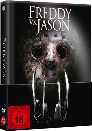 Freddy vs. Jason (2003) (Limited Edition, Mediabook, Uncut, Blu-ray + DVD)