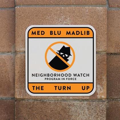 """Med, Blu & Madlib - Turn Up (12"""" Maxi)"""
