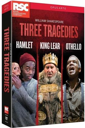Three Tragedies - Hamlet / King Lear / Othello (Opus Arte, 3 DVDs) - Royal Shakespeare Company