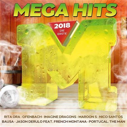 Megahits - 2018 - Die Erste (2 CDs)