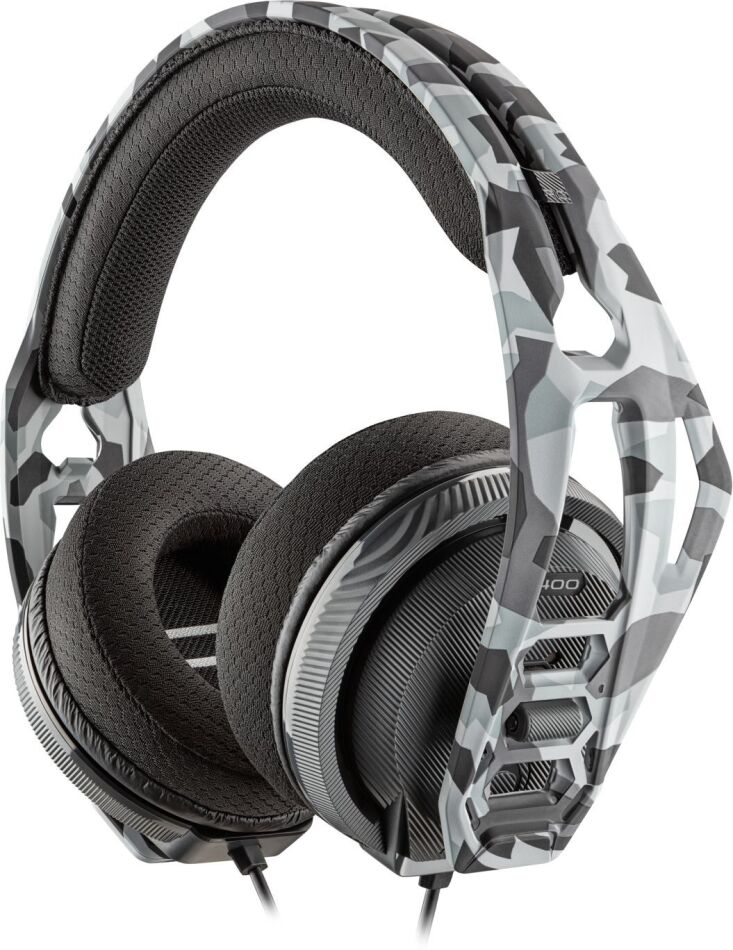 RIG 400HS Stereo Gaming Headset - artic camo [PS4/PC/Mac/Android]