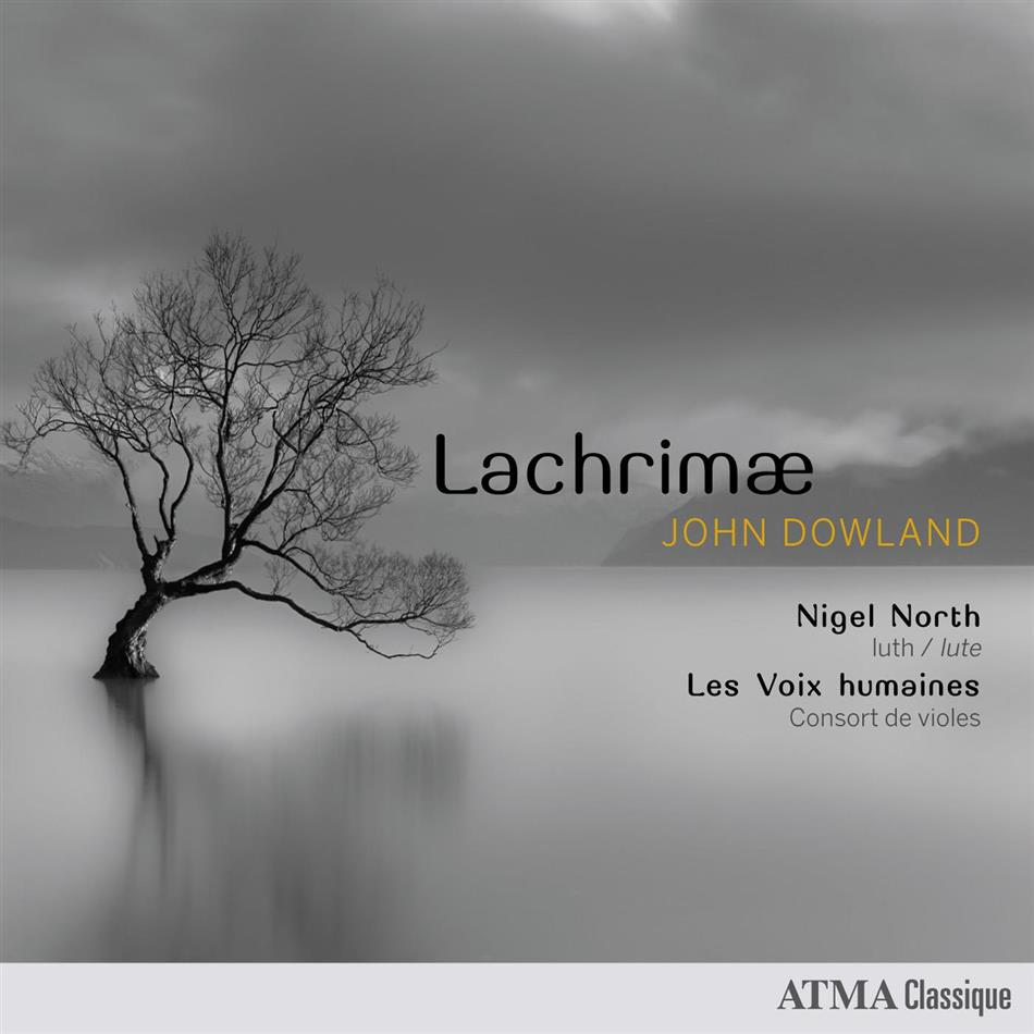 John Dowland (?1563-1626), Nigel North & Les Voix Humaines Consort of Viols - Lachrimae
