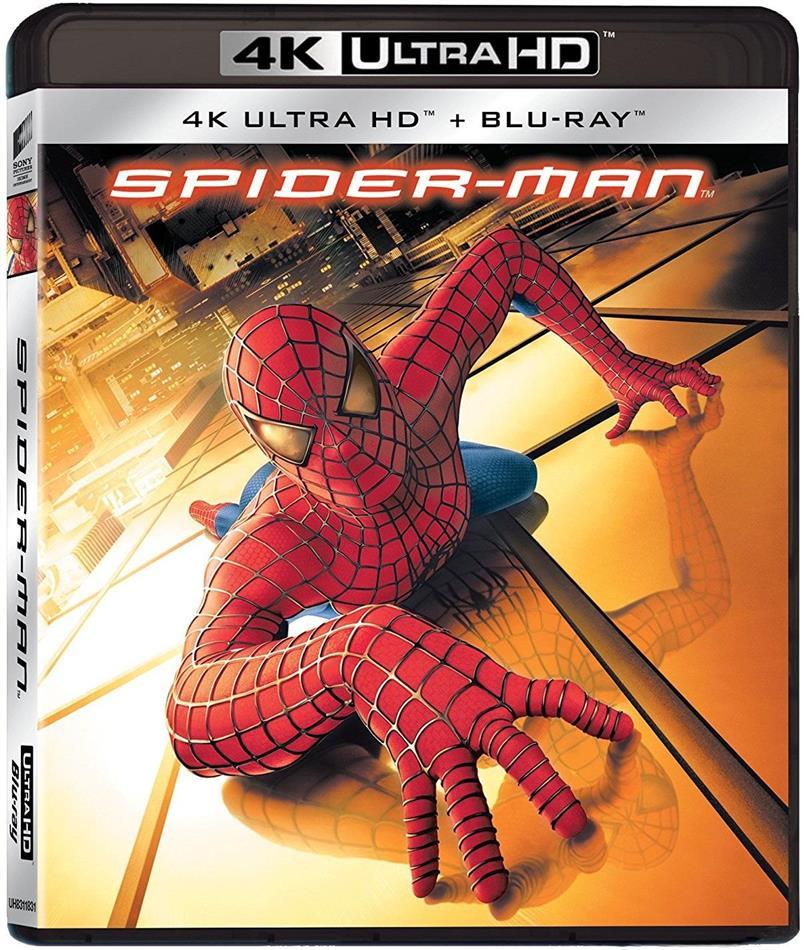 Spider-Man (2002) (Neuauflage, 4K Ultra HD + Blu-ray)