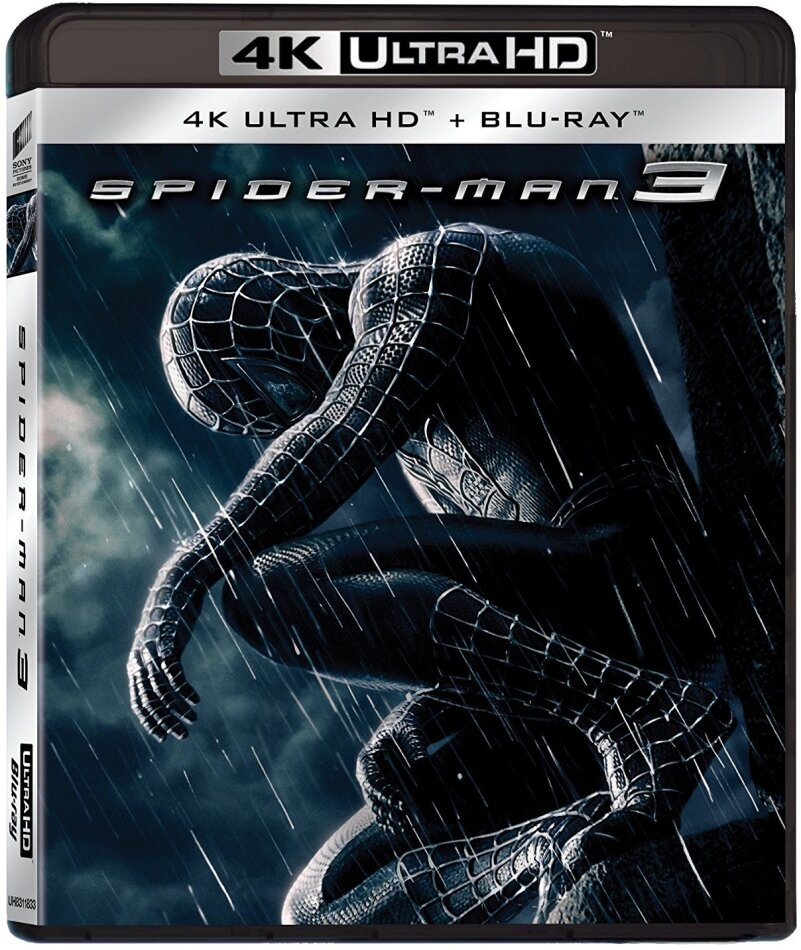 Spider-Man 3 (2007) (4K Ultra HD + Blu-ray)