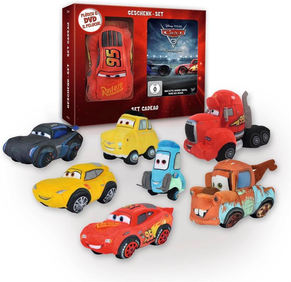Cars 3 - Geschenk-Set (2017) (+ Plüschfigur)