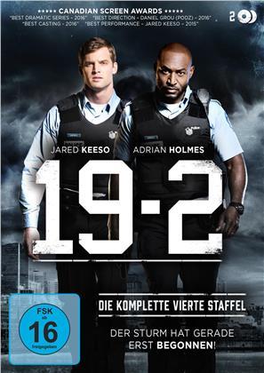 19-2 - Staffel 4 (2 DVDs)