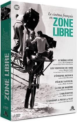 Le cinéma français en zone libre (Collection :Coffrets thématiques SNC, s/w, 8 DVDs)