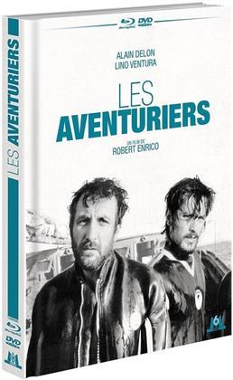 Les aventuriers (1967) (4K Mastered, Mediabook, Blu-ray + DVD)