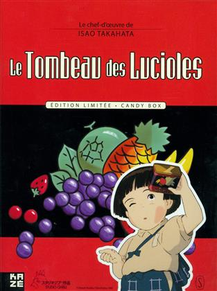 Le Tombeau des lucioles (1988) (Candy Box, Collector's Edition, Limited Edition, Blu-ray + 2 DVDs + Buch)