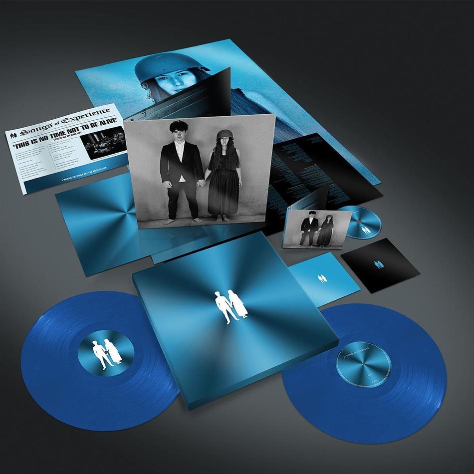 U2 - Songs Of Experience (Limited Boxset, Cyan Blue Vinyl, 2 LPs + CD + Digital Copy)