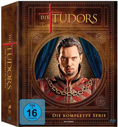 Die Tudors - Staffel 1-4 (Limited Edition, 12 Blu-rays)