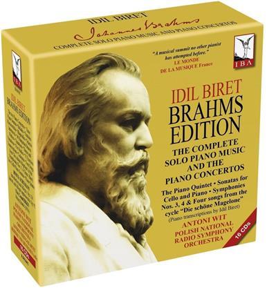 Idil Biret & Johannes Brahms (1833-1897) - Brahms Edition