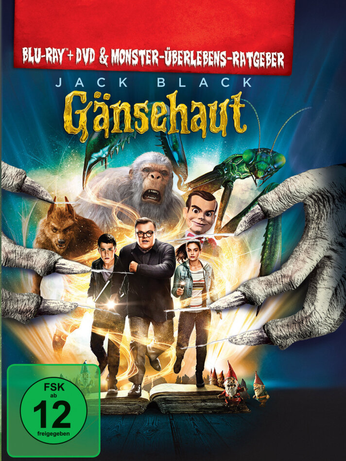 Gänsehaut (2015) (Limited Edition, Mediabook, Blu-ray + DVD)