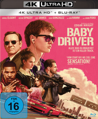 Baby Driver (2017) (4K Ultra HD + Blu-ray)