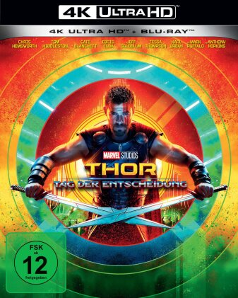 Thor 3 - Tag der Entscheidung (2017) (4K Ultra HD + Blu-ray)